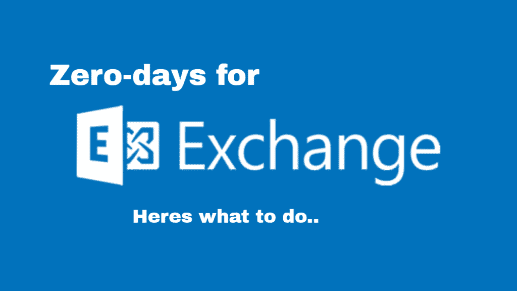 Exchange Server Zero day