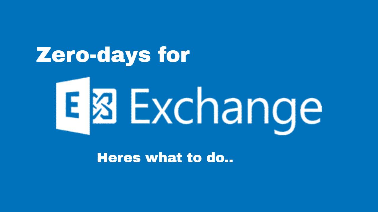Exchange Server Zero day