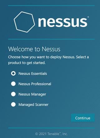 Nessus options